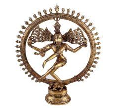 Brass Dancing Shiv Natraj Statue For Home Decoration