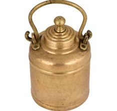 Handmade Brass Milk Pot Collectable Kitchenware