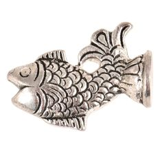 Brass Incense Holder Happy Fish Feng Shui For Good Luck