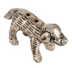 Brass Incense Holder Standing Dog Statue