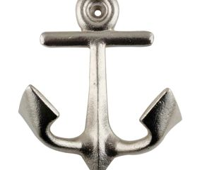 Silver Anchor Iron Hook