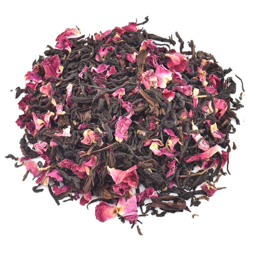 Organic Rose Tea Oolong Whole Leaf Tea