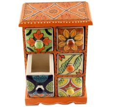 Spice Box-1458 Masala Rack Container Gift Item