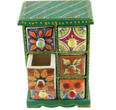 Spice Box-1459 Masala Rack Container Gift Item