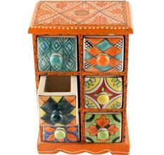 Spice Box-1460 Masala Rack Container Gift Item