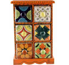 Spice Box-1461 Masala Rack Container Gift Item