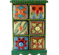 Spice Box-1463 Masala Rack Container Gift Item