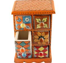 Spice Box-1469 Masala Rack Container Gift Item