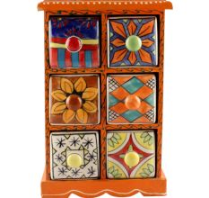 Spice Box-1470 Masala Rack Container Gift Item