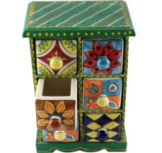 Spice Box-1472 Masala Rack Container Gift Item