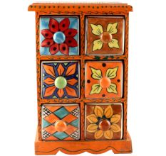 Spice Box-1473 Masala Rack Container Gift Item