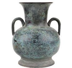 Unique Design Brass Flower Pot With Two Big Side Handles