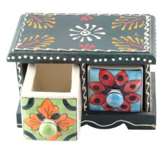 Spice Box-1475 Masala Rack Container Gift Item