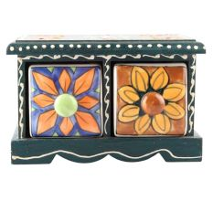 Spice Box-1479 Masala Rack Container Gift Item