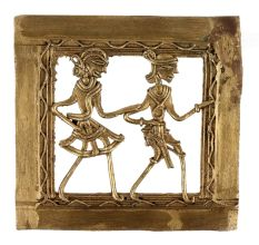 Brass Wall Art Hanging Daily Chores Activity