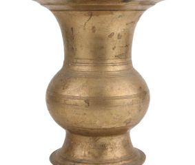 Handmade Brass Pot Vase Planter Urn Shape For Home Decoration