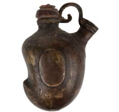 Old mango Shape Hand Islamic Hukka Pot