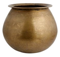 Brass Round Cooking Pot