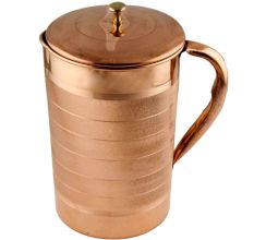 Copper Jug Or Pitcher With Luxurious Design