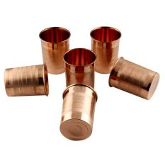 High Quality Copper Glasses In set of 6