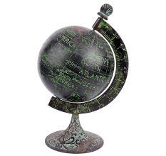 Brass Vintage Globe On A stand