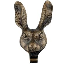 Antique Rabbit Face Iron Door Knockers