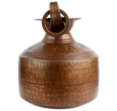 Hand Hammered Nepalese Copper Water Pot