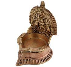 Artistic Brass Laxmi Lamp