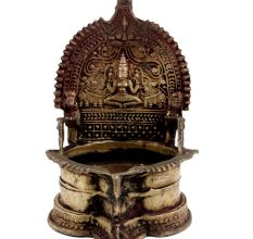 Laxmi Brass Oil Lamp Diya Table Diya