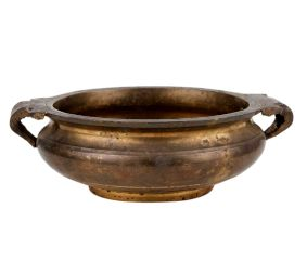 Traditional Brass Urli Bowl For Floating Candles Home Decoration