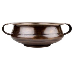 Decorative Brass Bowl For Floating Flowers And Candles