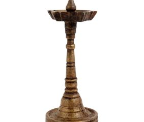 Handmade Brass Oil Lamp  South Indian Home Decoration Lamp