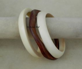 Wooden Resin Bangle -74