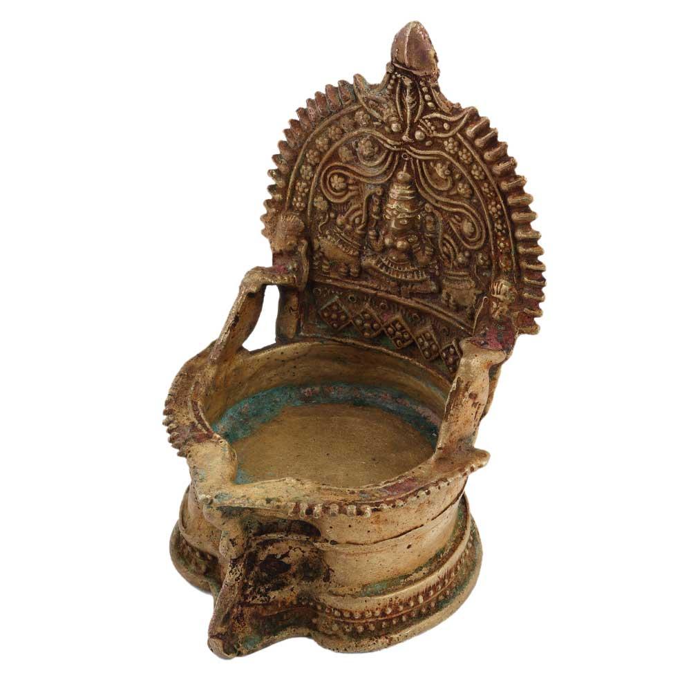 Handmade Brass Laxmi Lamp Diya