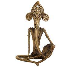 Handmade Tribal Brass Ganesha Statue