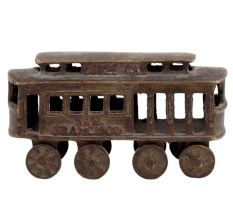 Brass Train Model Kids Room Gifting Showpiece