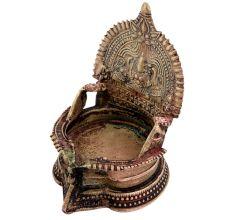 Decorative Laxmi Oil Lamp Kamatchi Lamp  For Home