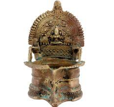 Brass Heritage Laxmi Oil Lamp Deepam