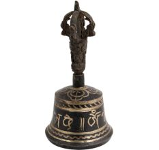Brass Buddhist Dripu Bell Dorje Vajra For Meditation