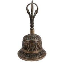 Buddhism Brass Meditation Dorje Vajra Handheld Bell