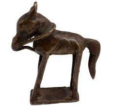 Handmade Tribal Décor Racing Horse Statue