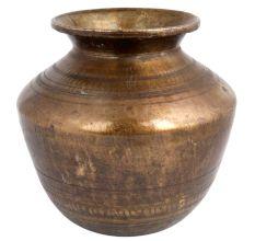 Brass Big Water Pot Hindu Ritual Worship Pot