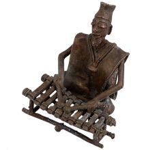 Tribal Xylophone Musician Statue For Gifting