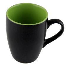 Handcraft Decorative Ceramic Black & Green Coffee Mug