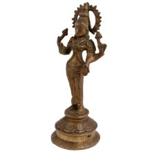Goddess Laxmi Standing  Four Armed Statue