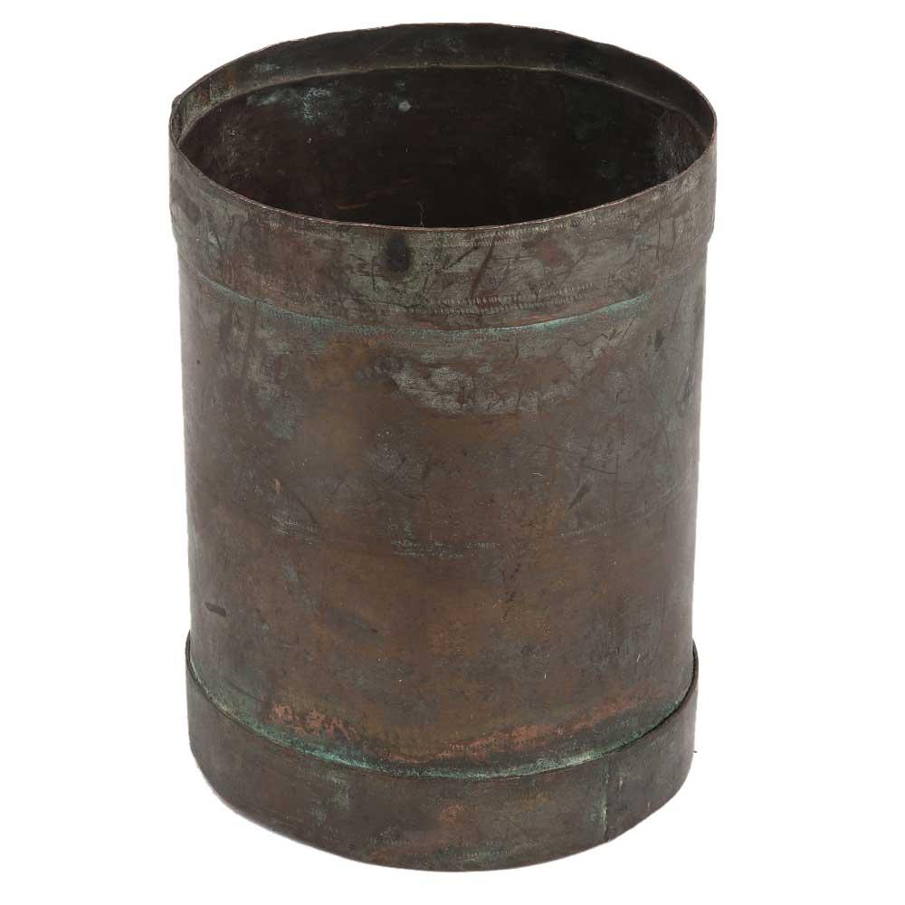 Indian Handmade Brass Measuring Cup