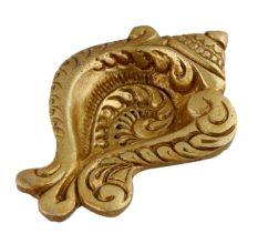 Decorative Conch Single Wick Oil Lamp Diya