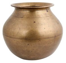South Indian Brass Rice Cooking Pot