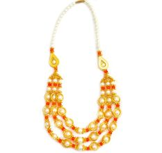 Multi Colored Fashion Wear Beads Necklace
