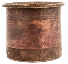 Hindu Copper PanchPatra Holy Water Pot